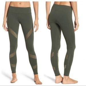 ALO Yoga Green Multi Legging Sz Large